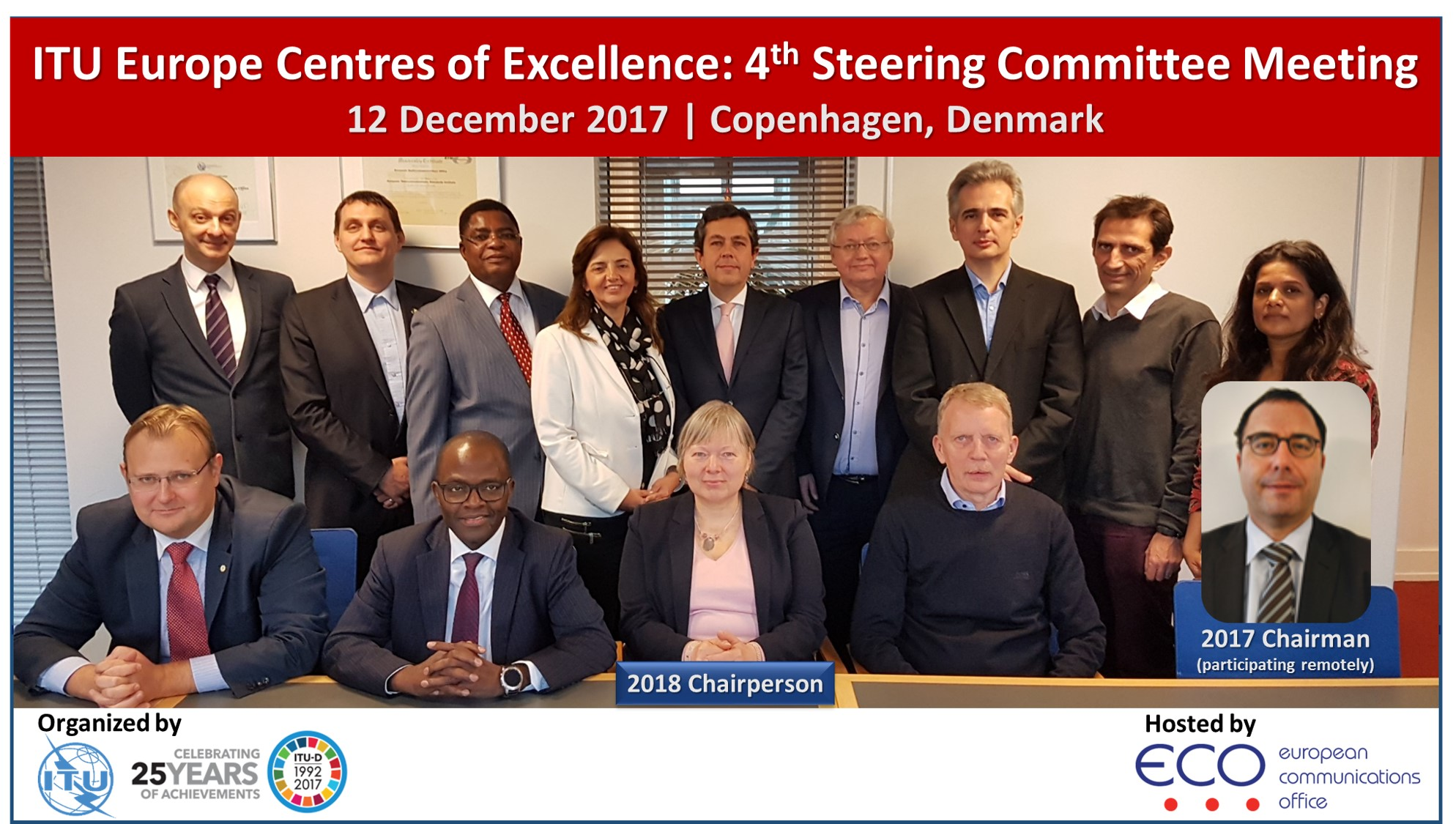Steering Committee – Centrres of Excellence – 2017